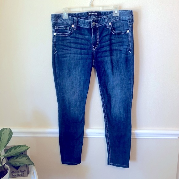 Express Plus Size Jeans Med Wash Women's 12